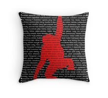 """The Year Of The Monkey"" Throw Pillow"