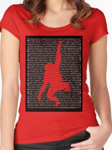 """""""The Year Of The Monkey"""" Clothing Women's Fitted Scoop T-Shirt"""