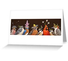 Backyard Party Greeting Card