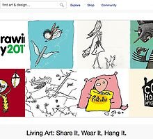 Drawing Day! - 4 June 2011 by The RedBubble Homepage