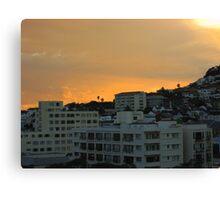 Cape Town dawn Canvas Print