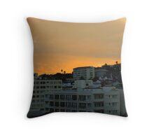 Cape Town dawn Throw Pillow
