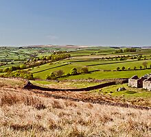 Silsden barn landscape by AttiPhotography