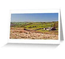 Silsden barn landscape Greeting Card