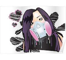 Face Paint Poster
