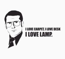 Anchorman T-Shirts - I love lamp. by badragz