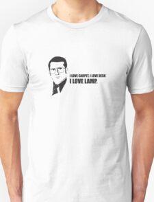 Anchorman T-Shirts - I love lamp. Unisex T-Shirt