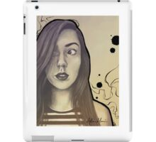Ink Girl iPad Case/Skin