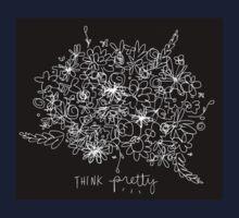 Think Pretty. Kids Tee