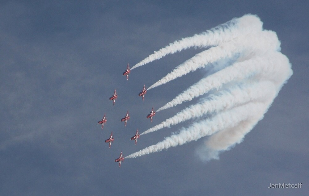Red Arrows 3 by JenMetcalf