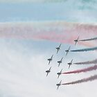 Red Arrows 7 by JenMetcalf