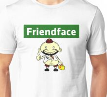 The IT Crowd – Friendface – Catch Up with Old Friends Unisex T-Shirt