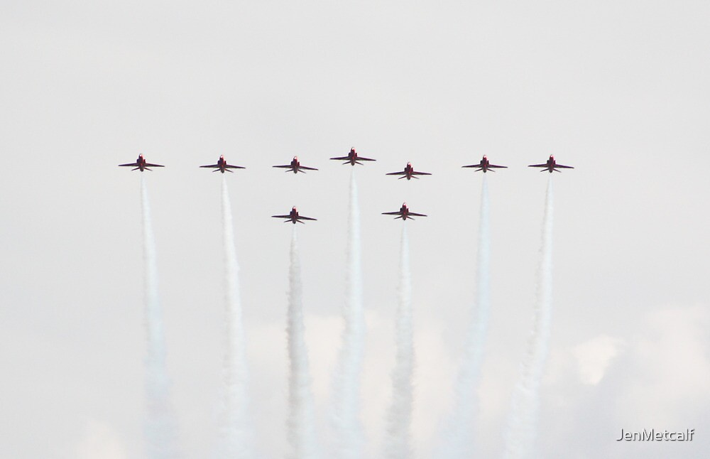 Red Arrows 8 by JenMetcalf