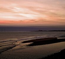 Northumberland Dawn Beach by patrick2504