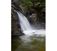 Bingham Falls Flowing with Gusto Photographic Print