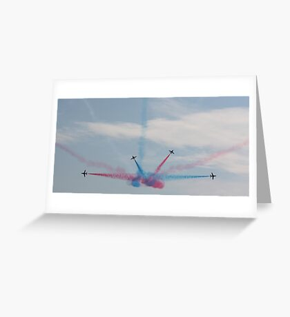 Red Arrows 10 Greeting Card