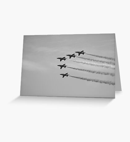 Red Arrows 11 Greeting Card