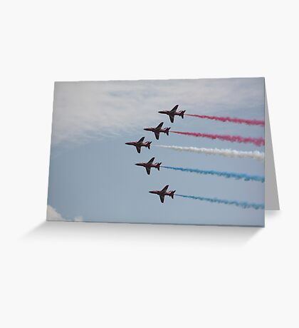 Red Arrows 12 Greeting Card