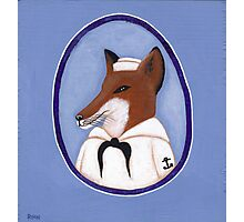 Foxy Sailor Photographic Print