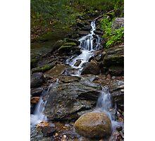 Feeding Bingham Falls Photographic Print