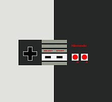 NES controller.  by StonedEyes