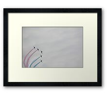 Red Arrows 13 Framed Print