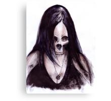 Dead-She Canvas Print