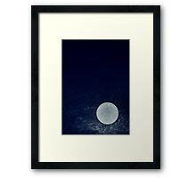Blue Moon Framed Print