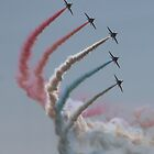 Red Arrows 15 by JenMetcalf