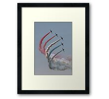 Red Arrows 15 Framed Print