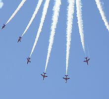 Red Arrows 16 by JenMetcalf
