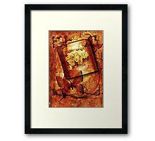 *Hydrangea & Butterflies Compilation* Framed Print