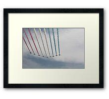 Red Arrows 17 Framed Print