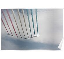Red Arrows 17 Poster