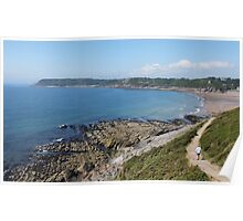 Heading to Caswell Bay Poster