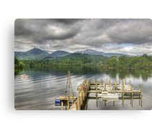 Keswick Jetties Metal Print