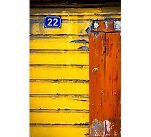 Blue 22 Photographic Print