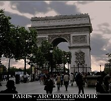 arc de triomphe by kippis