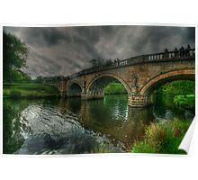 River Derwent Bridge Poster