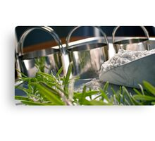 Baking... Canvas Print