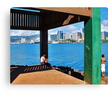 The Other Side of the World Canvas Print