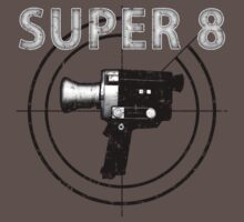 Super 8 Movie Distressed by waywardtees