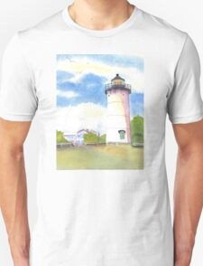 Marthas Vineyard Lighthouse  Unisex T-Shirt