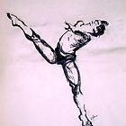 Male Dancer sketch  by Daryll  Stokes