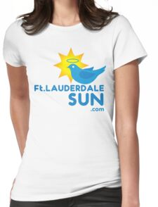 Fort Lauderdale Sun Womens Fitted T-Shirt