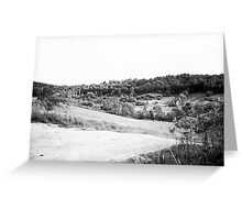 Black & White Country! Greeting Card