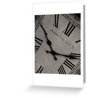 Edinburgh Clock Works - Time Passages Greeting Card