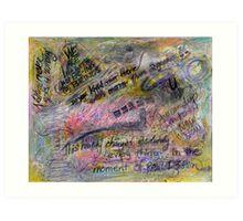 multi-2 in 1 {drawing day (2)} Art Print