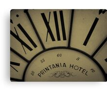 Printania Hotel - Time Passages Canvas Print