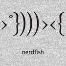 Nerdfish - Black by LTDesignStudio
